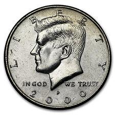 2000-P Kennedy Half Dollar BU
