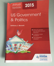 US Government & Politics Annual Update 2015 - Anthony J Bennett