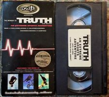 """""""The Moment Of Truth - An Extreme Sports Adventure"""" 1996 VHS Truth Soul Armor"""