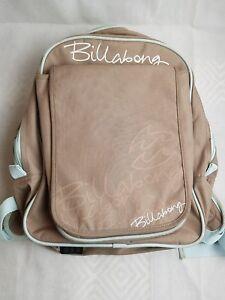 Billabong Beige Brown Backpack  Rucksack