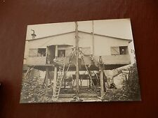 Unknown  surrealist photographer FRANCE  Interwar BUILDERS   16 x 17cm original