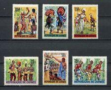 27242) GUINEA MNH** Nuovi** 1966, Dance 6v