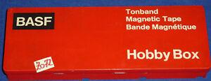 BASF TONBAND HOBBY BOX; MAGNETIC TAPE; BAND MAGNETIQUE; KASSETTENREPARATUR -Z072