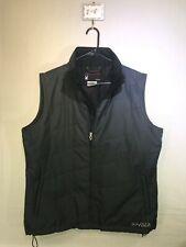 Women's Spyder Black Polyester Zip Front Layering Vest. US Size: 14.