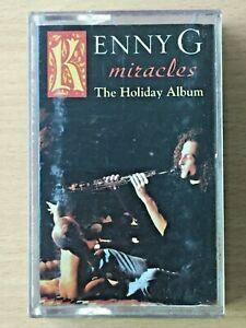 KENNY G Miracles PHILIPPINES Paper Label Cassette Tape