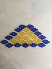 Bundle Of Geomag Panels Diamond Shape For Magnetic Construction Toys