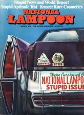 NATIONAL LAMPOON 1974 MARCH LEO SAYER JONI MITCHELL CLASSICAL COMICS