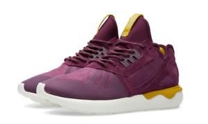 "Adidas Men's Tubular Runner S81679 ""Merlot"" Athletic / Lifestyle Sneakers"