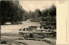 1905. CROWN POINT, NY. STAIR FALLS. POSTCARD MM7