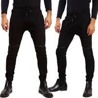 Pantaloni uomo tuta slim fit aderenti sport fitness TOOCOOL laccio BS-E615