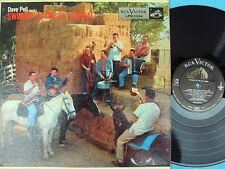 Dave Pell Octet ORIG US LP Swingin at the ol corral VG+ '56 DG RCA Jazz Cool