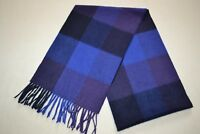 Paul Smith Mens Cashmere Check Scarf  New