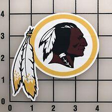 """Washington Redskins 4"""" Wide Multi-Color VInyl Decal Sticker - BOGO"""
