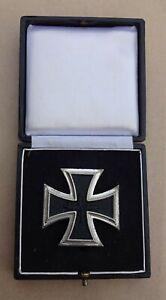 Eisernes Kreuz I Klasse   BRD  gute  Qualität Form   1957  mit Etui