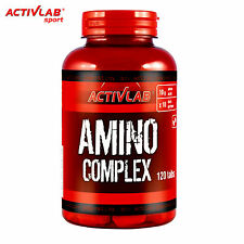 Amino Complex 120 Tablets Whey Protein Pills BCAA Branched Chain Amino Acids