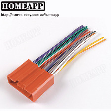 Radio CD Player Wire Harness Stereo Connect Wiring Fit for Mazda  M6 besturn B70