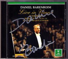 Barenboim Firmato Schubert 4 Impromptus d.935 Piano Sonata 960 pianoforte Sonata CD