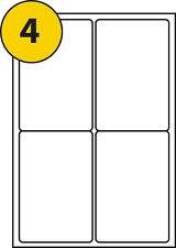 100 Sheets 4 Labels per Sheet Size 99.1 X 139mm MS Word L7169 J8169