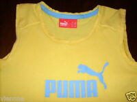 Sportshirt Sporttop Top Puma 5 - 6 - 7 - 8 gelb S 110 116 122 128