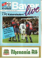 BL 92/93 Bayer 05 Uerdingen - 1. FC Kaiserslautern