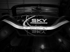 Wind Deflector for Pontiac Solstice Saturn Sky Opel GT Etched and Illuminated