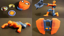Lot 4 figurines Spiderman Happy meal McDonald's NEUF sous emballage 10 cm 2009