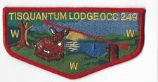 OA Lodge # 164 Tisquantum S-47 Red Bdr; Council Name CC249