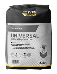 Floor Level Compound Self Levelling Add Water or Latex Febflor 708 20Kg Bag