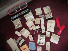 HUGE LOT TECH DECK SKATEBOARDS RAMPS JUMPS HALF-PIPE CARRY CASE TOMMY HAWK 52 PC