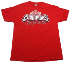 St Louis Cardinals World Series Fall Classic 2011 Champions AlStyle Tee Size Lg