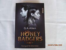 HONEY BADGERS Honigsüß & Bitterböse G.A. Aiken Taschenbuch Roman Fantasy-Romance