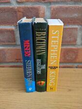 3 Book Bundle Joblot Stephen King HB PB Horror Classics shining buick 8 first