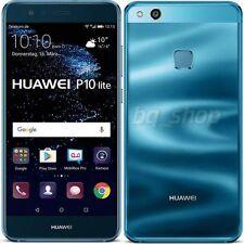 "Huawei P10 lite Blue Dual SIM 32GB 5.2"" Octa Core 4GB RAM 12MP Phone By Fed-ex"