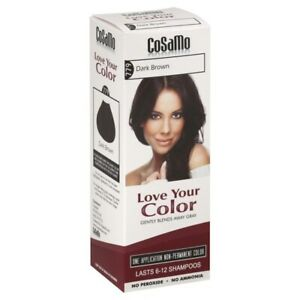 CoSaMo Hair Color #779 Dark Brown - Compares to Clairol Loving Care #79