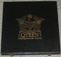 box 2 cd Queen ‎– Unforgettable Music Gold discs Limited Edition EU 1993 TRIBUTE