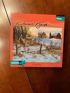 "Buffalo Games ""Evening Run"" 1000 Piece Puzzle ""NEW"" Artist - Darrell Bush"