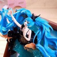 Vocaloid Hatsune Miku  Deep Sea Girl ver Painted PVC Figure Anime Toy 23cm AU