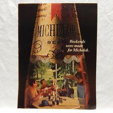 ADVERTISEMENT BEVERAGE, MICHELOB BEER, 1979