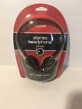 Vintage Maxell HP-100 Lightweight Stereo Headphones Sealed  For Walkman iPod