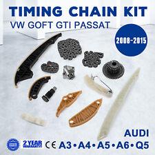 Timing Chain Kit For VW Audi SKODA A3 A4 A5 A6 GOLF EOS Passat 1.8 2.0 TFSI TSI