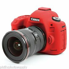 easyCover Armor Protective Skin for Canon 5Ds / 5Dsr Red - Free US Shipping
