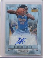 2012/13 PANINI PRIZM KENNETH FARIED AUTOGRAPH 17/25