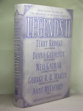 1st, signed by all 11 authors, Legends II edited by Robert Silverberg (2004)