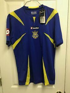 NWT 2006/08 Ukraine Away 2XL Jersey Lotto Blue XXL