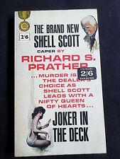 JOKER IN THE DECK - BY RICHARD S. PRATHER -  GOLD MEDAL ( MULLER  UK ) P/B- 1965