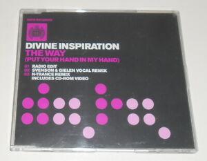 DIVINE INSPIRATION - THE WAY - 2000 UK VIDEO ENHANCED CD SINGLE