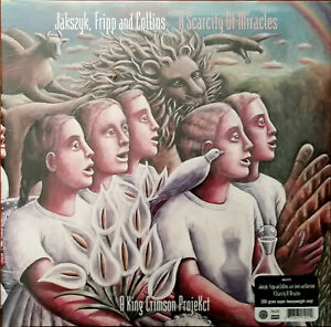 Jakszyk, Fripp And Collins A Scarcity Of Miracles, King Crimson Projekct 200g LP