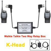 K-head Walkie Talkie Handheld Repeater Radio Two-way Relay Box 5-8 km Portable