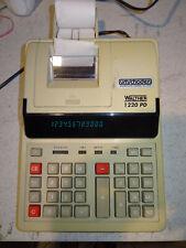Walther 1220 PD,  Calculator Rechenmaschine, Funktioniert,