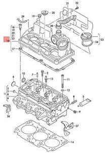 Genuine VW SEAT SKODA Polo Derby Vento-Ind Cylinder Head Cover 03P103469A